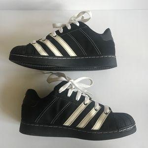Adidas Black White Supermod St Shoes Sz 8 M 9.5 W